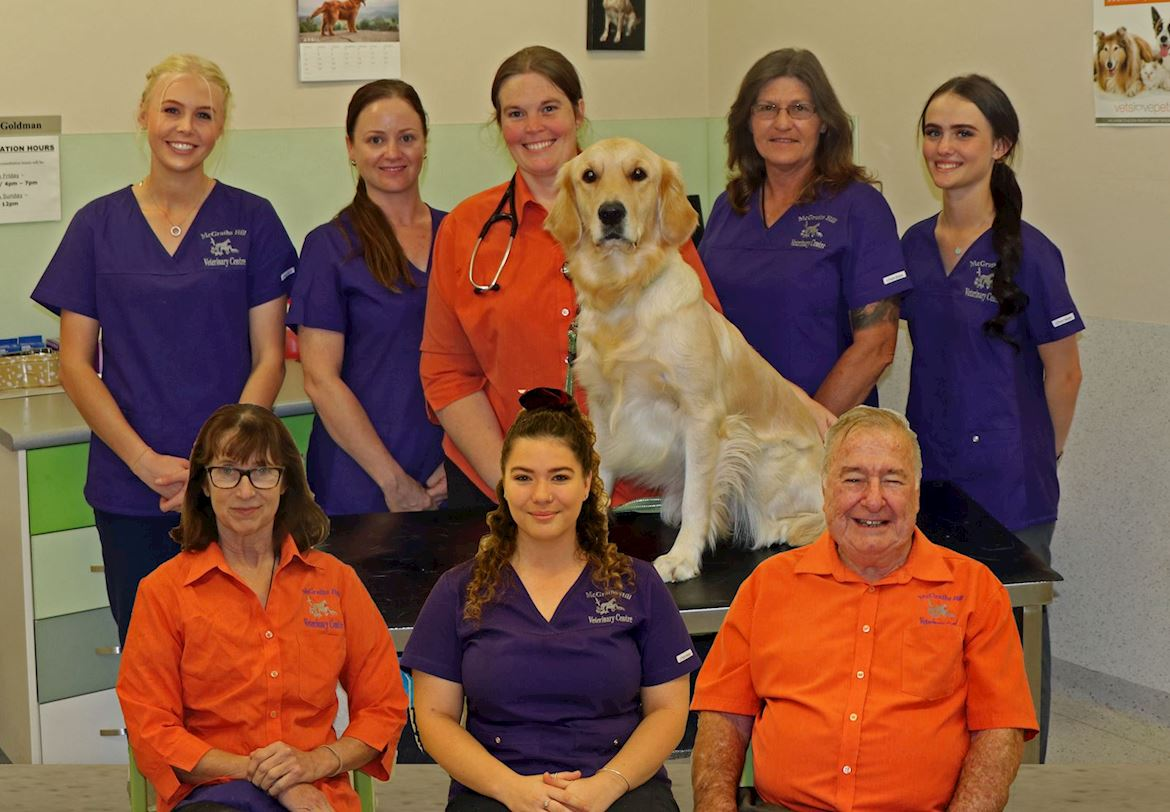 McGraths Hill Vet Team Photo